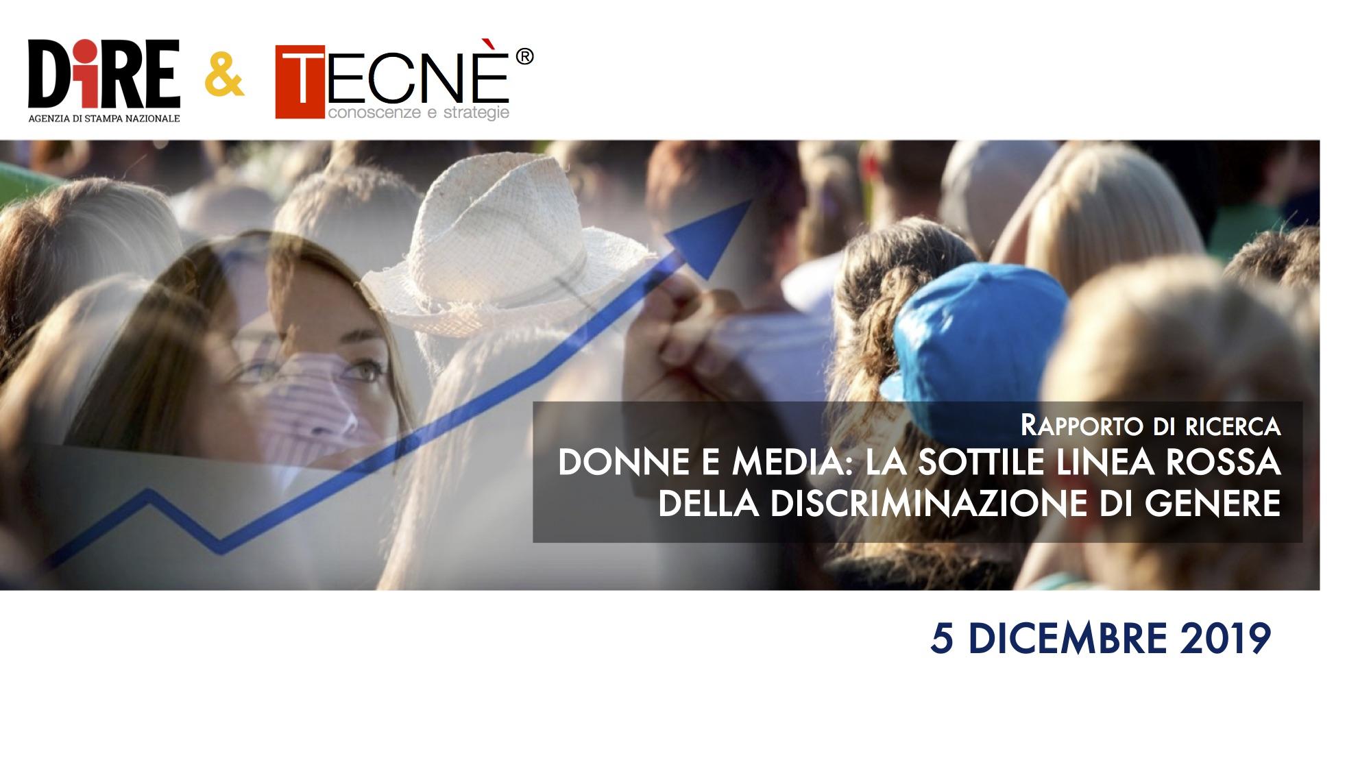 DONNE E MEDIA - 1