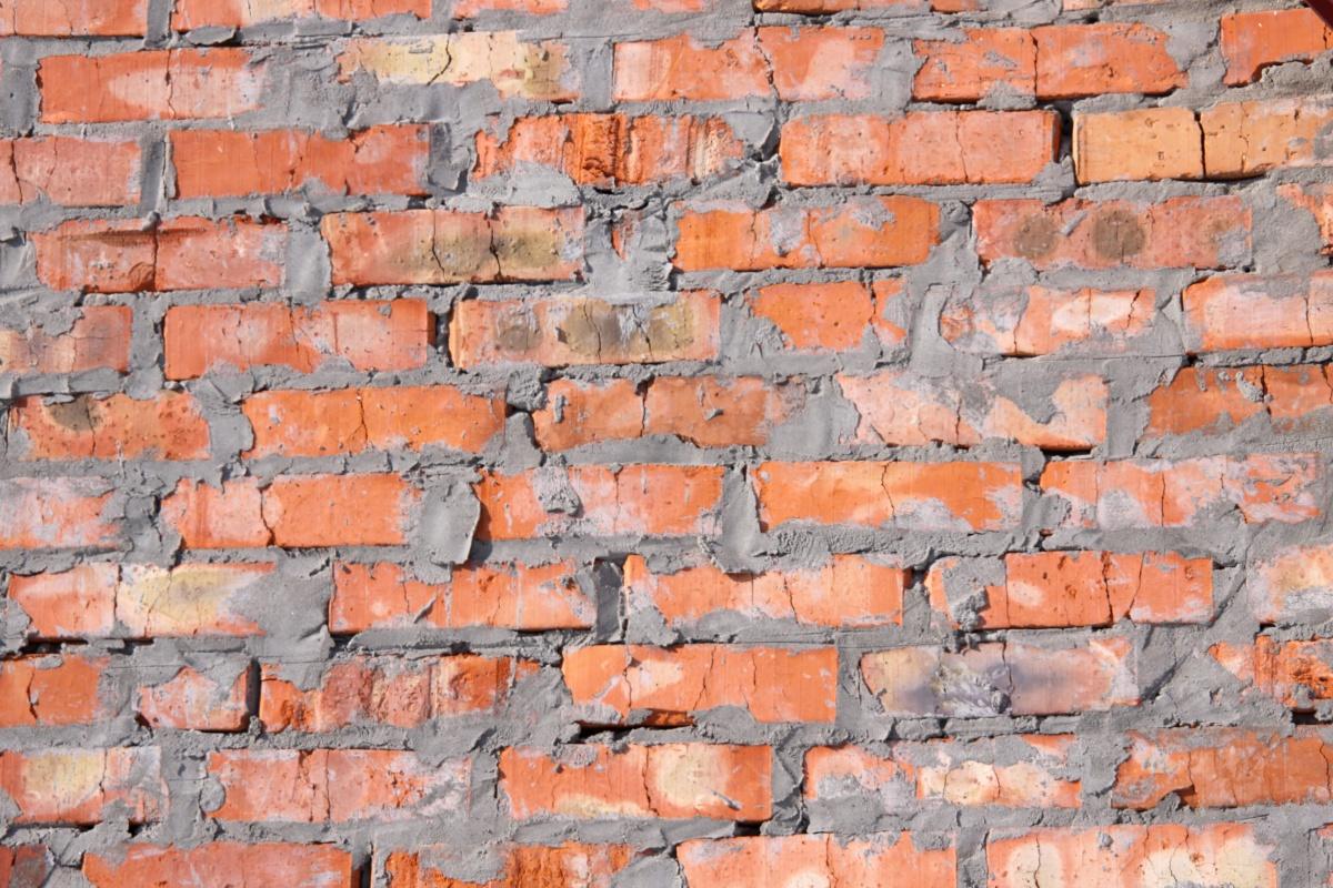 Muro mattoni rossi