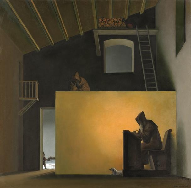 La pittura metafisica contemporanea dopo Giorgio de Chirico