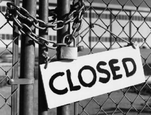imprese chiuse